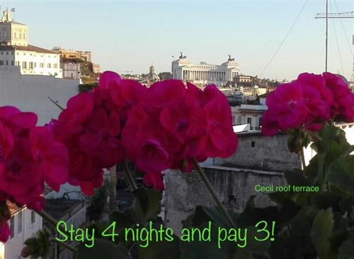 STAY 4 NIGHTS - ONLY PAY FOR 3 with this great special!